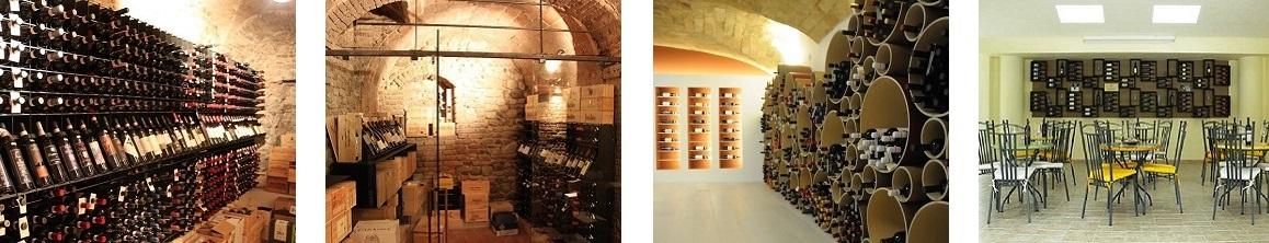 Arredamento Esigo per punto vendita vini 1
