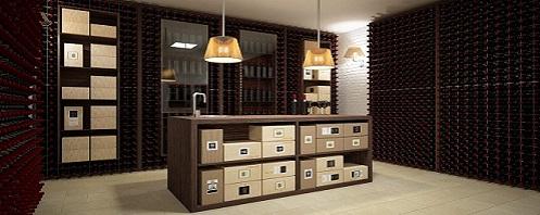 Arredamento per il vino esigo su misura for Arredamento cantina vino