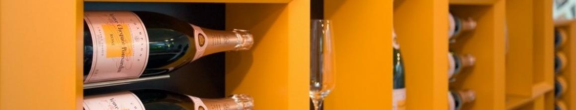 Portabottiglie in legno Esigo 5 finiture Veuve Clicquot