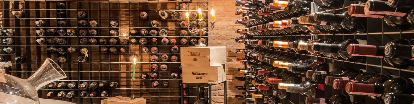 Esigo srl portabottiglie vino arredamento per enoteca for Arredamento cantina