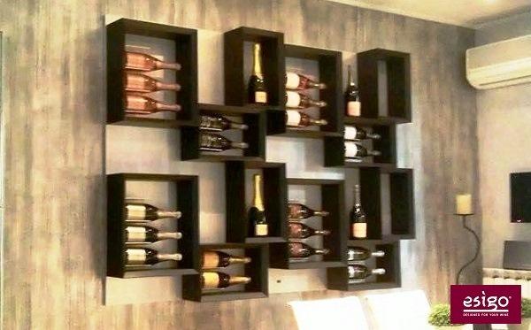 Arredamento per il vino Esigo - zona living