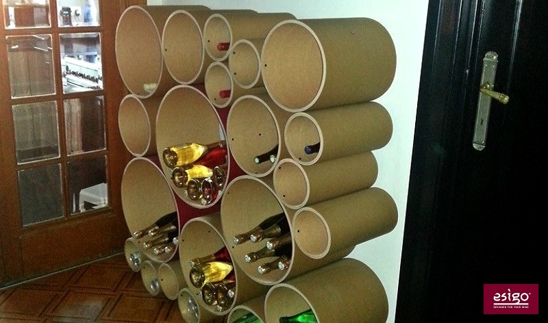 Portabottiglie di design Esigo 8