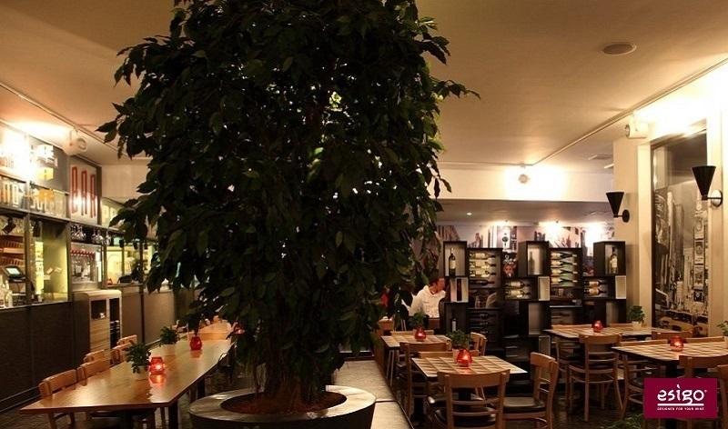 Mobile vino in legno Esigo 5 Floor - arredo ristorante