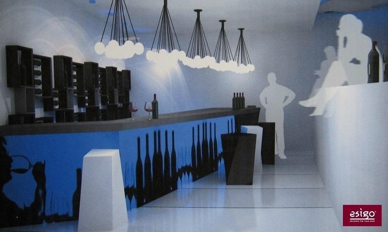 Arredamento Esigo per wine bar