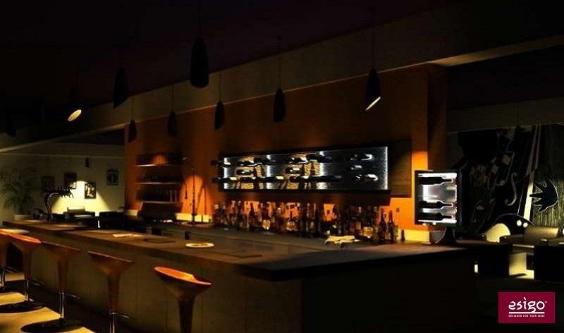 Arredo Esigo per wine bar