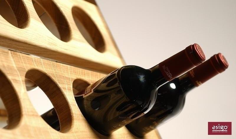 Espositore per bottiglie in legno Esigo 1 Classic