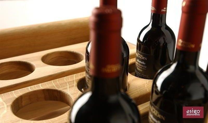 Espositore portabottiglie vino in legno Esigo 1 Classic