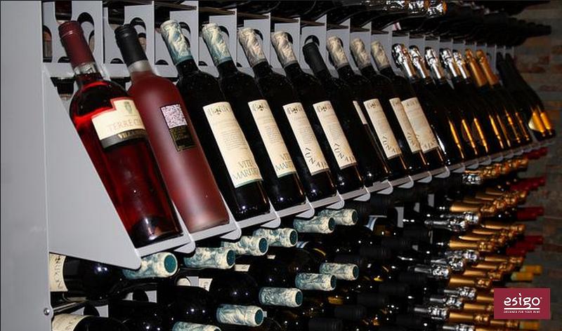 Espositore porta vini in legno Esigo 1 Classic