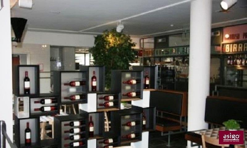 Portabottiglie in legno Esigo 5 Floor