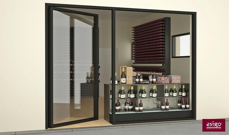 Mobile vino in acciaio Esigo 2 Box
