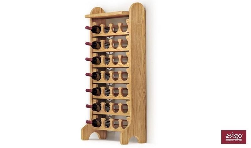 Porta vini in legno Esigo 2 Classic