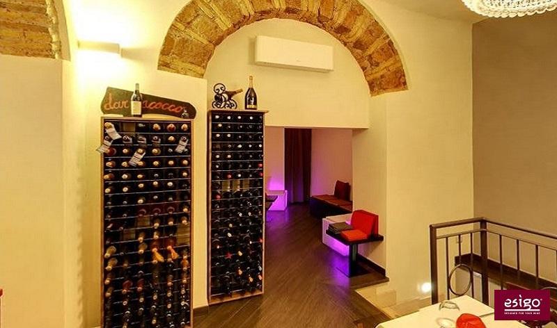 Porta bottiglie dal design moderno Esigo 2 Wall