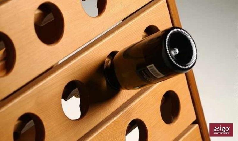 Portabottiglie pupitre Esigo 3 Classic Champagne