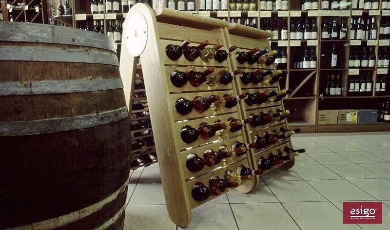 Portabottiglie classico Esigo 3 Classic Champagne