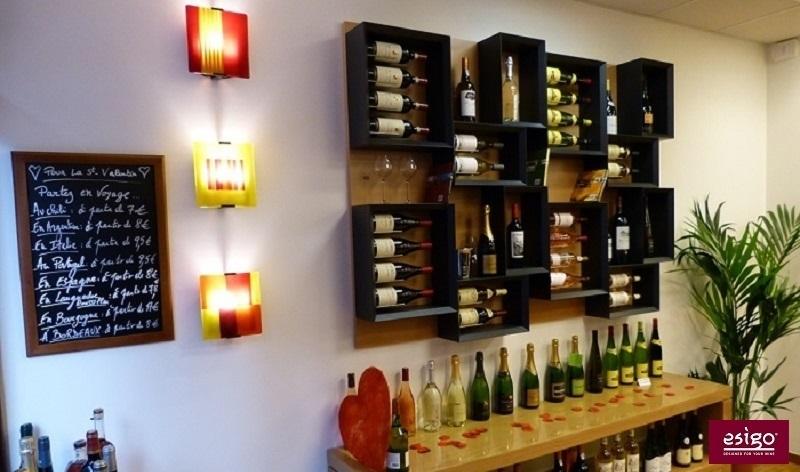 Porta bottiglie di design Esigo 5