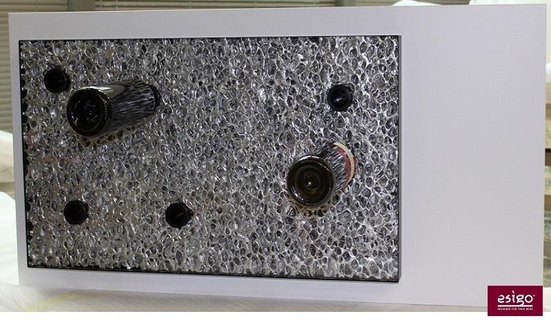 Espositore per vino in alluminio Esigo 6