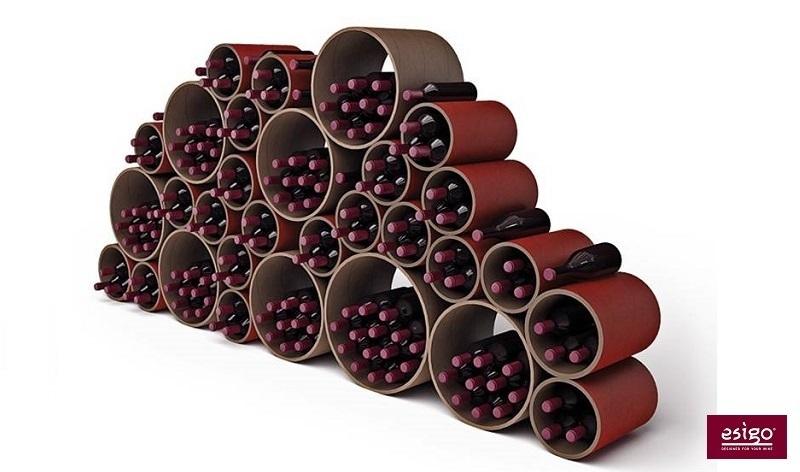 Espositore per bottiglie di vino Esigo 8