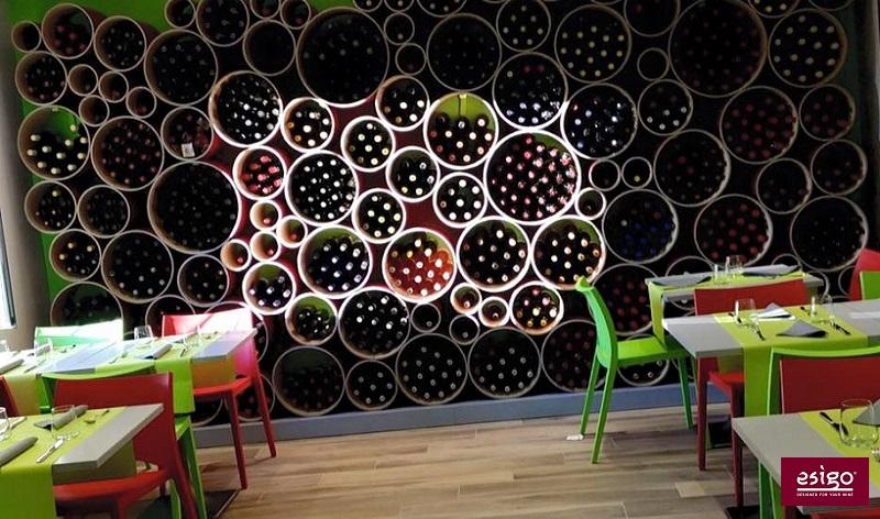 Portabottiglie di design ecologico Esigo 8