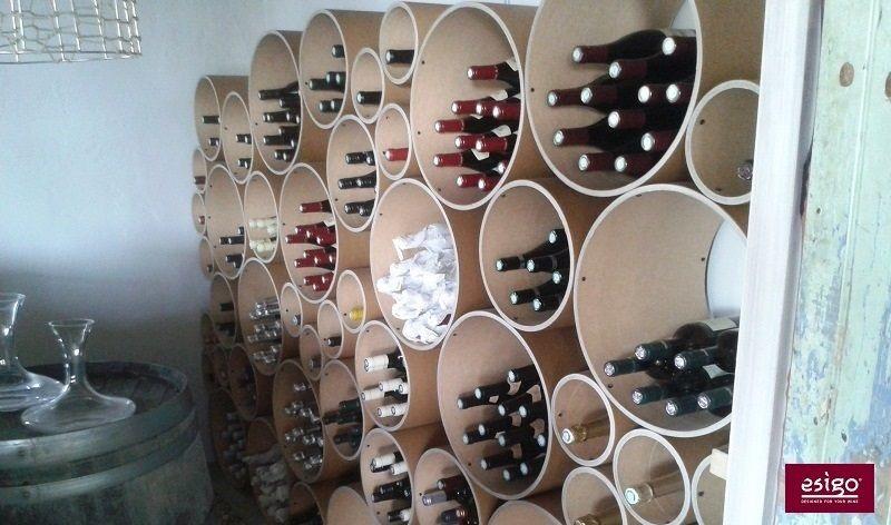 Portabottiglie in cartone riciclato Esigo 8