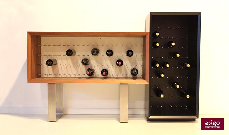 Porta bottiglie special edition Esigo 9 verticale