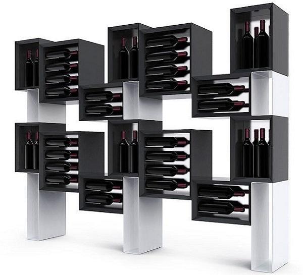 Mobile vino di design Esigo 5 Floor