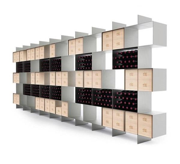 Portabottiglie di design Esigo 2 Box