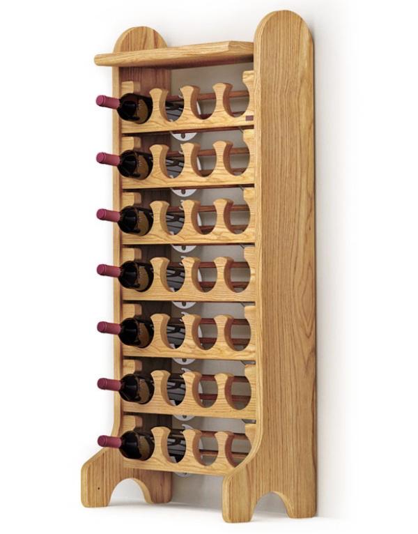 Portabottiglie in legno esigo 2 classic - Portabottiglie vino in legno ...