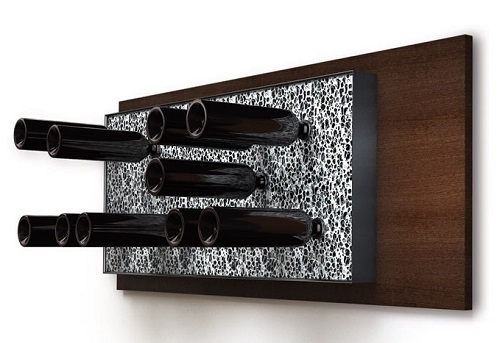 Portabottiglie vino in alluminio Esigo