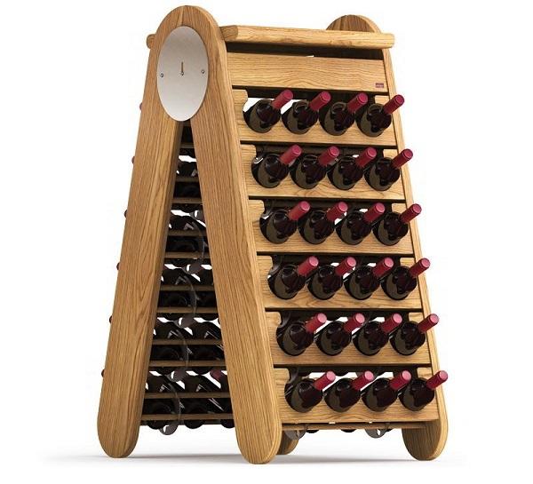 Porta vino in legno Esigo 3 Classic