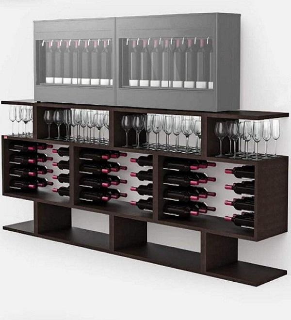 Mobile per bottiglie di vino Esigo Wss9