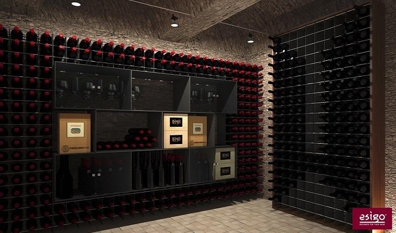 Arredamento cantina vino di design - Mobili per cantine ...