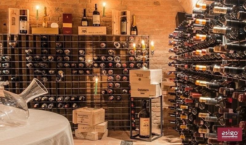 Gallery portabottiglie esigo 2 net for Porta bottiglie vino