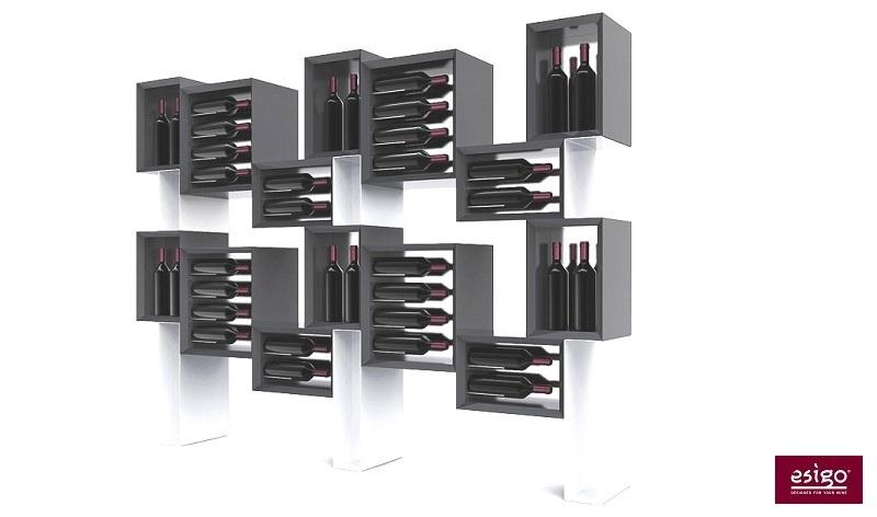 Mobile vino in legno Esigo 5 Floor