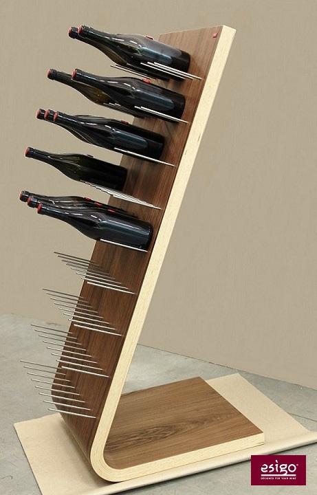 Gallery portabottiglie esigo 4 - Portabottiglie di vino in legno ...