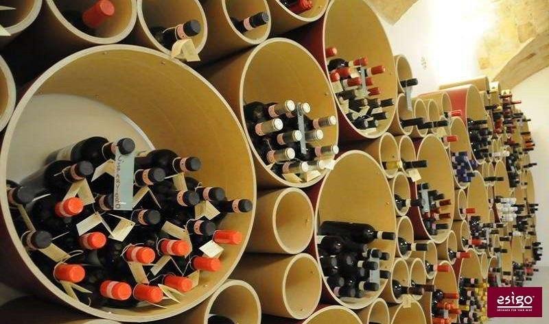 Gallery portabottiglie esigo 8 - Porta vini da parete ...