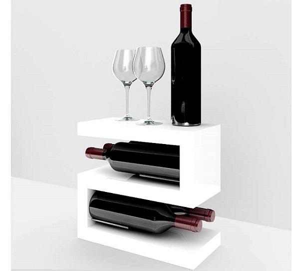 Top Espositore porta vino in legno Esigo 12 MQ32