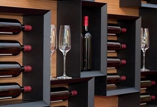 Esigo srl portabottiglie per il vino made in italy for Mobile porta bottiglie