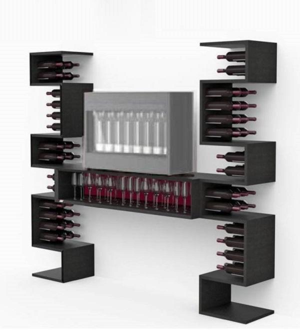 ... Portabottiglie / Mobili bar / Mobile per bottiglie di vino Esigo Wss6